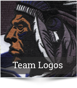 Embroidered Team Logos